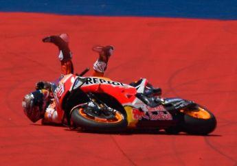 Gagal Juara di MotoGP Amerika, Marc Marquez Masih Belum Percaya Kenapa Bisa Nyungseb