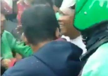 Video Keributan di Depan Asrama Polisi, Driver Ojol Dipukul Ojek Pangkalan, Gara-gara Penumpang