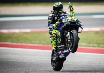 Punya 'Utang', Alasan Valentino Rossi Kecewa Gak Juara MotoGP Amerika