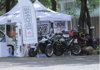 Event Adventure Jabarally 2019, Versys Owners Indonesia (VOID) Disupport IPONE