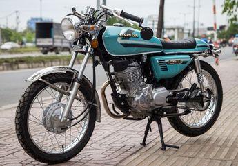 Dimodif Cafe Racer, Aura Klasik Honda CG125 Tetap Gak Bisa Hilang