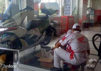 Klaim Gredek Honda PCX Dilayani Pihak Honda Diganti Part 2019