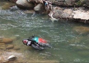 Video Motor Terjun ke Sungai Sedalam 7 Meter Pelajar Meninggal, Sempat Tabrak Tembok