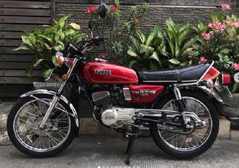 Langka Nih, RX 125 Tahun 1979 Dijual, Kondisi Mulus Surat Komplit
