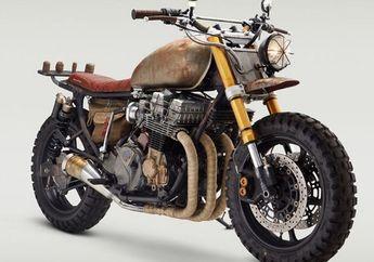 Terinspirasi Film The Walking Dead, Tampilan Honda CB 750 Jadi Angker, Mirip Motor Zombie