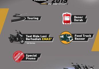 MAXI Yamaha Day Kembali Digelar Ramaikan Cibinong Hari Minggu Ini