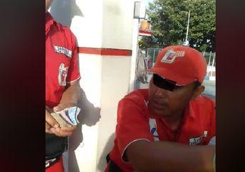 Pasuruan Geger, Video Petugas Pom Bensin Lakukan Pungli ke Pembeli Bensin Eceran, Marah Saat Ditanya