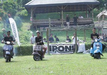 Keren, IPONE OIL Mulai Lirik Komunitas Scooter, Gelar Event di Baturaden