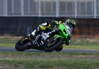 Membanggakan, Pembalap Indonesia, AM Fadly Bikin Indonesia Raya Berkumandang di Race 1 ARRC AP250 Australia