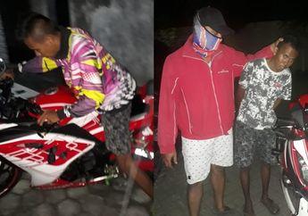 Heboh! Maling Motor Ninja 250 Modusnya Test Ride, Ketangkep Berkat Anak Klub