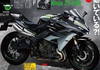 Bocoran Spek Kawasaki Ninja 250 4 Silinder Power 45 DK Bisa 19.000 rpm