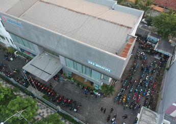 Suzuki Saturday Night Ride Surabaya, 400 Bikers Komunitas Suzuki Kumpul