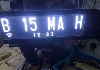 Waspada, Polisi Incar 7 Variasi Pelat Nomor Motor, Ketangkap di Jalan Langsung Setor Rp 500 Ribu