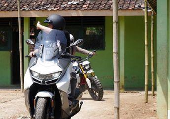 Ariel Noah Sambangi Salatiga, Gading Martin Jelajah Yogyakarta Naik BMW C400 GT, Usung Misi Mulia