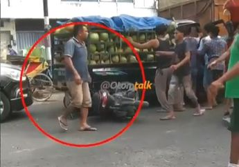 Video Detik-detik Sopir Bus Ngantuk Hajar Truk, Honda Vario Masuk Kolong Mobil, Pemotor Terkapar
