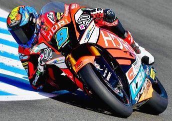Hasil Kualifikasi Moto2 Spanyol 2019, Navarro Bangkit, Dimas Ekky Start Ke-29