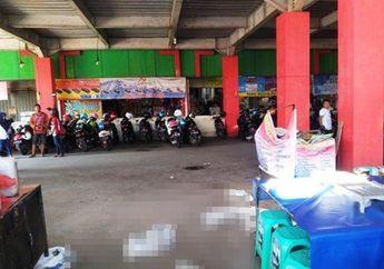 Parkiran Motor Pasar Kliwon Kudus Heboh, 2 Pria Loncat Dari Lantai 4