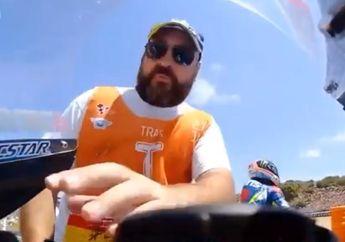 Ketangkep Basah, Video Marshal Nyolong Komponen Motor Alex Rins di MotoGP Jerez 2019