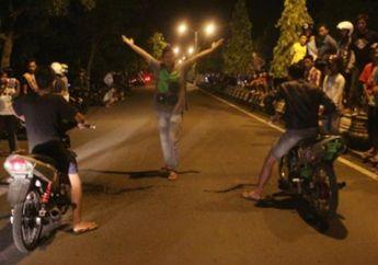Waspada Ketangkep,  Polisi Sudah Tahu Jam Dan Lokasi Balap Liar  Ramadhan