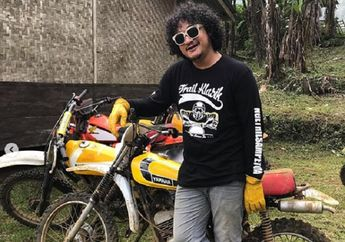 Baru Tahu, Dibalik Wajah Kocak, Isa 'Bajaj' Hobi Trabasan dan Penyuka Motor Antik