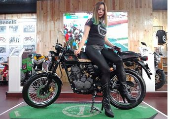 Cuma Rp 19,8 Juta Harga Motor Cafe Racer, Ini Daftar Cicilan Benelli Motobi 152