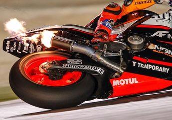 Kenapa Knalpot Motor MotoGP Keluar Api? Ini Dia Asal Muasalnya
