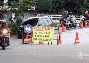 Bikin Lega Pemotor, Pemkot Jakarta Pusat Anggarkan Rp 10 Miliar Untuk Jalan Rusak Selama 2019