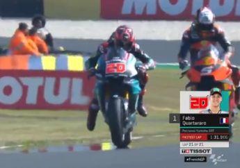 Hasil FP1 MotoGP Prancis, Fabio Quartararo Pecundangi Marc Marquez dan Valentino Rossi