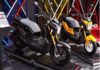 Kece Badai, Honda Zoomer Dibikin Konsep Lowrider, Motor Jadi Kelihatan Lebih Seksi