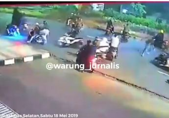 Biadab! Video Kekejaman Geng Motor Tusuk Peserta Sahur On The Road Sampe Tewas