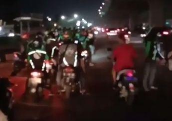 Video Driver Ojol Sweeping Bersama Polisi, Mencari Para Gengster
