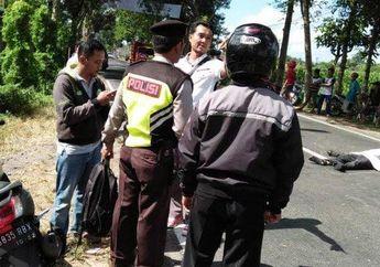 Ngeri, Pengendara Motor Honda Vario Tergeletak Tanpa Nyawa di Tengah Jalan, Korban Tabrak Lari?