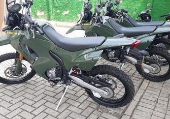 Wuih! Gak Kalah Keren dari Motor Trail Brimob , TNI Pakai Motor Trail 250 CC Keluaran Honda