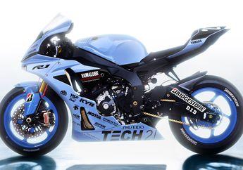 Tetap Keren, Livery 34 Tahun Lalu Dipasang Lagi di MotoGP Balap Yamaha R1