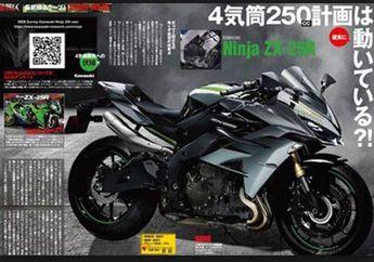 Kawasaki Ninja 250 Empat Silinder Keluar 2019,  Bulan Ini Prediksinya