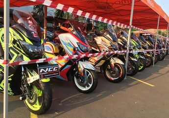 Meriah, 79 Motor Ramaikan Kontes Sekaligus Ngabuburit Adi Pro Modification Contest 2019