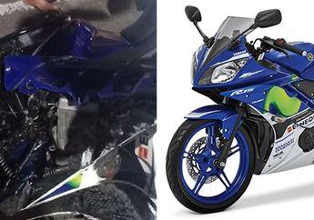 Semarang Heboh Yamaha R15 Hantam Tiang Listrik, Malah Dituduh Ilmu Kebal