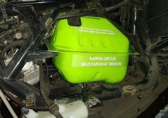 Keren Nih, Tangki Motor Yamaha NMAX Mirip Tabung Gas 3 Kg, Bisa Nampung Bensin Banyak Banget