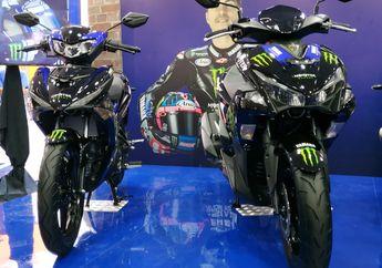 Sebab Yamaha Memilih Aerox Baru Daripada NMAX Diberi Livery Monster Energy MotoGP 2019
