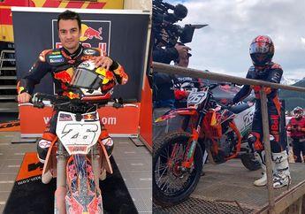 Meski Salah Kostum, Aksi Dani Pedrosa Tetap Memukau Naik Motor Enduro