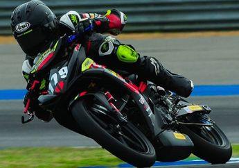 Richard Taroreh Amankan Podium Untuk Indonesia di UB150 ARRC Thailand 2019 Race 1