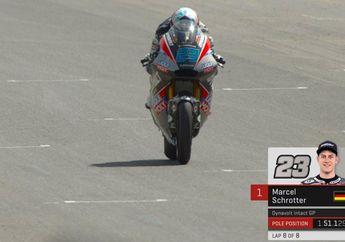 Hasil Kualifikasi Moto2 Italia, Schrotter Pole Position, Dimas Ekky Pertajam Waktu Hingga 3 Detik
