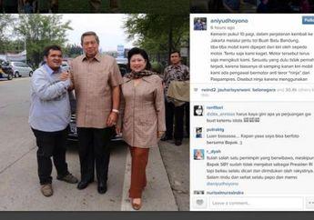Breaking News! Ibu Ani Yudhoyono Meninggal, Ternyata Presiden SBY dan Almarhumah Pernah Dipepet Pemotor Saat Naik Mobil