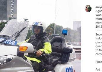 Almarhumah Ani Yudhoyono Hobi Fotografi, Honda Gold Wing Polisi Militer Pernah Jadi Objek Fotonya