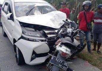 Nahas, Ditabrak Mobil yang Pecah Ban, Balita Umur 3 Tahun Meninggal Saat Dibonceng Motor