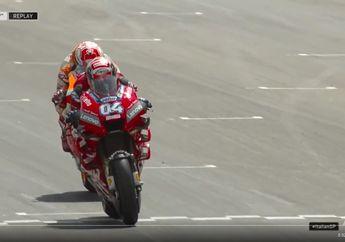 Video Manuver Berbahaya dan Memanfaatkan Dovizioso, Ducati Kecam Keras Marc Marquez