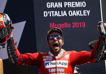 Uniknya Danilo Petrucci, Fakta Heboh Kemenangan di MotoGP Italia 2019