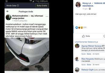 Waduh, Pengendara Mobil Cari Rider Yamaha NMAX, Ada Yang Janggal, Malah Jadi Bulan-bulanan