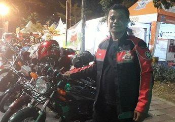 Keren, Komunitas Motor Cobar RX-King Ajak Mudik Bareng Anggotanya Naik Motor