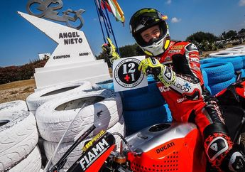 Top Banget, Super Bau Juara Superpole Race WSBK Spanyol Dedikasikan Buat Dia
